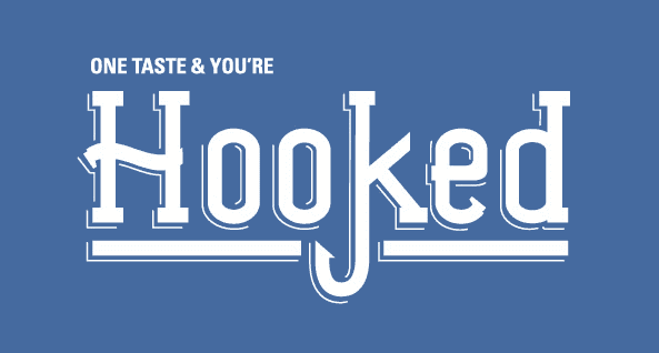 Hooked Galway logo, award winning family friendly seafood dining in Galway's Westend