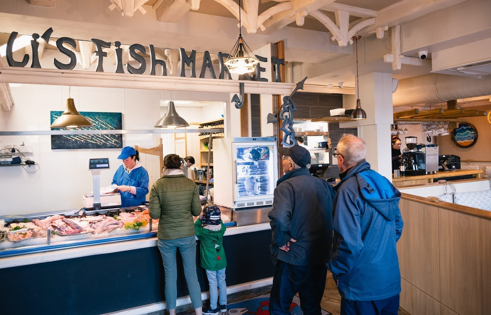Ali's Fish Market provides fresh seafood for wholesale and retail