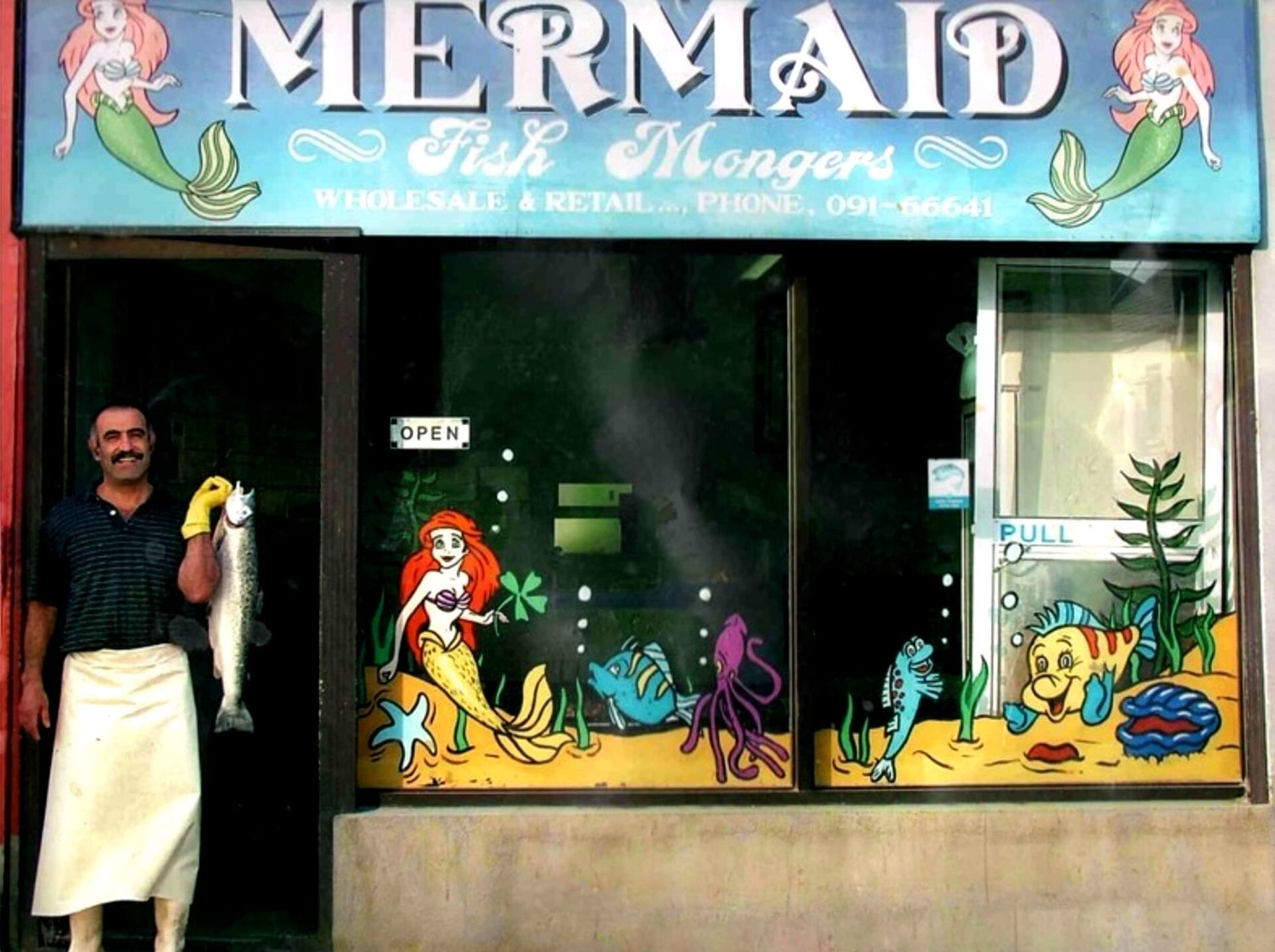 Mermaid Fish Mongers - the humble beginning of Hooked Galway!