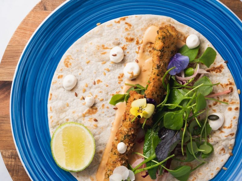 Hooked Fish Taco - served fresh daily